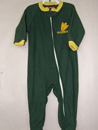Oregon Ducks NCAA Infant Footed Sleeper Creeper - Toddler (24 Months)