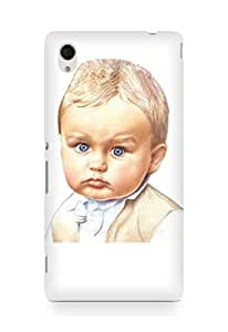 Amez designer printed 3d premium high quality back case cover for Sony Xperia M4 (Cute Baby)