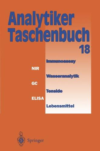 Analytiker-Taschenbuch  [Günzler, Helmut - Bahadir, A. Müfit - Danzer, Klaus - Fresenius, Wilhelm - Galensa, Rudolf - Huber, Walter - Linscheid, Michael - Schwedt, Georg - Tölg, Günter - Borsdorf, R. - Lüderwald, I. - Wisser, H.] (Tapa Blanda)