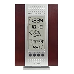 La Crosse Technology WS-7014CH-IT Indoor & Outdoor Digital Thermometer w/ Indoor Humidity, Forecaster, Atomic Clock at Sears.com