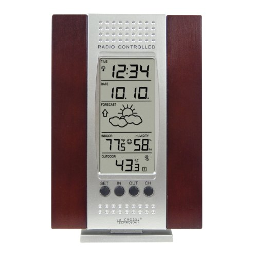 Buy La Crosse Technology WS-7014CH-IT Indoor  Outdoor Digital Thermometer w Indoor Humidity Forecaster AtomicB0000APTGM Filter
