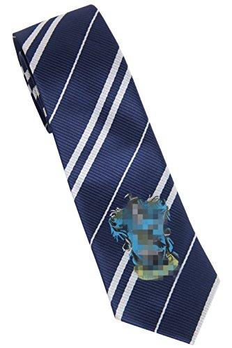 Topcosplay Unisex Adults Novelty Cosplay Halloween Costume Neckties Tie for Harry Potter (Ravenclaw)
