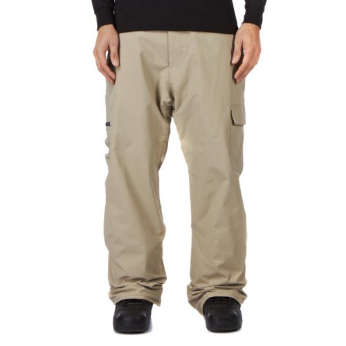 Quiksilver Atacama Insulated Relaxed Men's Trousers Tan X-Large