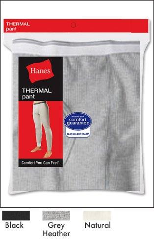 Hanes Thermal Pant 22804 L/Black