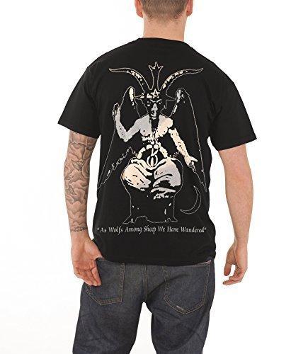 Darkthrone - Top - Maniche corte  - Uomo nero Large