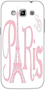 Snoogg Paris Eiffel A 2500 Solid Snap On - Back Cover All Around Protection F...