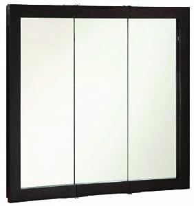 Design House 541359 Ventura Tri-View Medicine Cabinet, Espresso, 36-Inch by 30-Inch