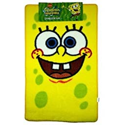 Official SpongeBob SquarePants Large Childrens Floor Rug (26 x 35 inches)