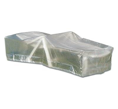 Schutzhülle für Gartenliege Sonnenliege Roll Liege transparent von Vamundo bei Gartenmöbel von Du und Dein Garten