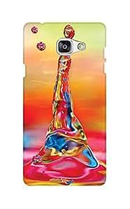 ZAPCASE PRINTED BACK COVER FOR SAMSUNG J7 PRIME Multicolor