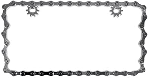 Custom Accessories 92762 Chrome Chain License Plate Frame from Custom Accessories