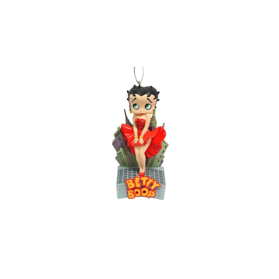 Carlton Cards Heirloom Betty Boop Christmas Ornament with Sound