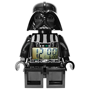 Darth Vader Star Wars LEGO Alarm Clock