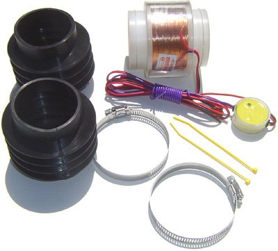Jet-Air E-Magnetic Fuel Saver Intake Kit Nissan Maxima 2.0L W/ Universal Installation front-886664
