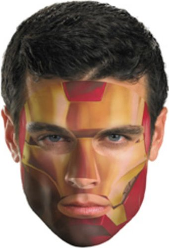 Disguise Iron Man 2 Movie Costume #11622 Face Tattoo