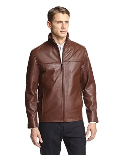 Emanuel Ungaro Men's Leather Jacket