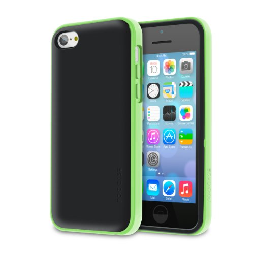 Roocase Iphone 5S / 5 Case - Hype Hybrid Dual Layer Cover (Green)