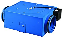 VENTS-US VKP 125 In-Line Square Centrifugal Metal Fan, 5-Inch