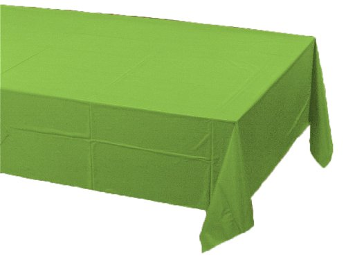 Creative Converting Paper Banquet Table Cover, Fresh Lime