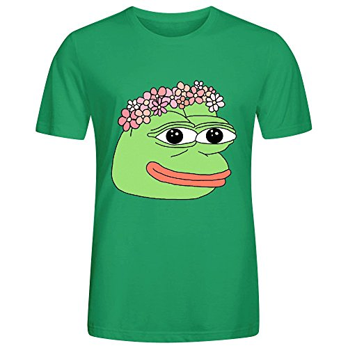 Flower Pepe Mens T-Shirt Green (Wu Tang Clan Thermal compare prices)