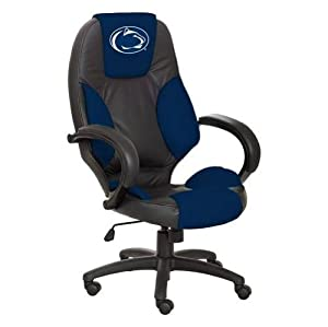 NCAA Penn State Nittany Lions Leather Executive Office Chair by Wild Sports