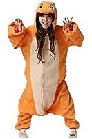 Kozoruze Unisex-adult Kigurumi Onesie Fire Dragon Pajamas