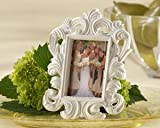 White Baroque Elegant Place Card Holder/Photo Frame