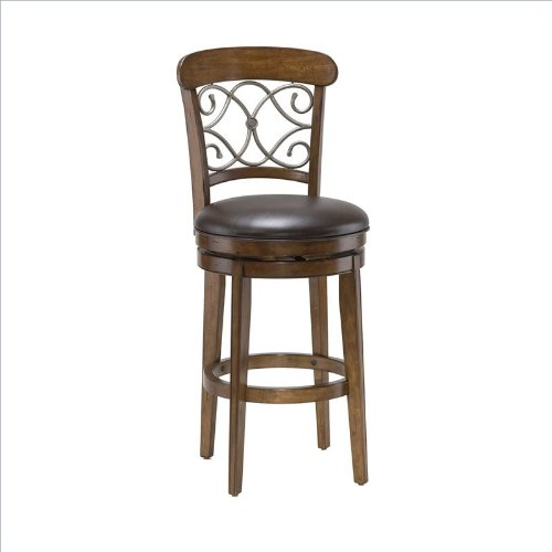How Do I Hillsdale Bergamo Swivel Counter Stool Juan L