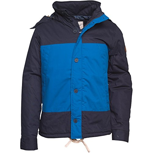 Native Youth Herren Parkajacke Navy/Kobaltblau