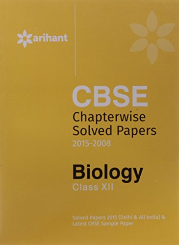 CBSE Chapterwise Questions: Answers Biology (Old Edition)