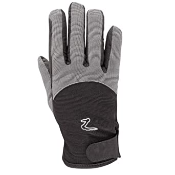 Horze Winter Insulated Gloves - Size:Medium Color:Black/Paloma