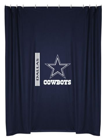 Dallas Cowboys Shower Curtain (72x72) NFL at Amazon.com
