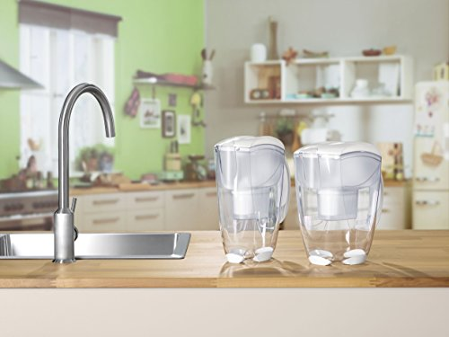 Brita elemaris xl met blanc carafe filtrante 3 5 l your 1 source for home - Carafe d eau filtrante ...