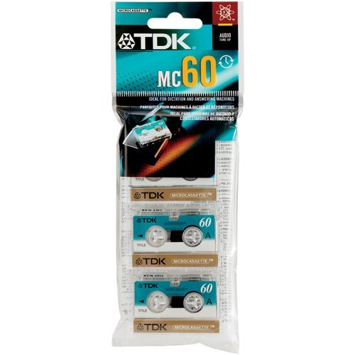 Learn More About TDK D-MC60U3 Audio Microcassettes With Case – 60 MIN, 3 PK