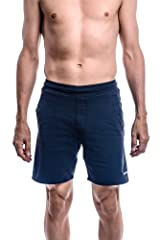 Yoga Crow Mens Swerve Yoga Shorts w/Moisture Wicking Anti-microbial Inner Liner