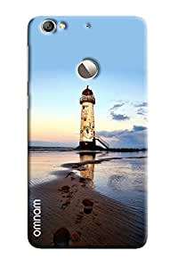 Omnam Sea Tower Printed Designer Back Cover Case For LeTv Le 1s