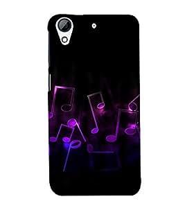 Music Back Case Cover for HTC Desire 626::HTC Desire 626G Plus::HTC Desire 626G+