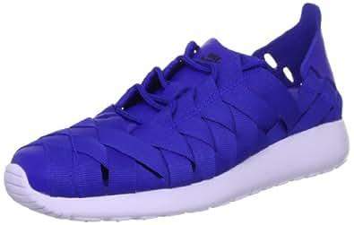 Nike Women's Roshe Run Woven - Hyper Blue / Black-Pure Violet, 9 B US
