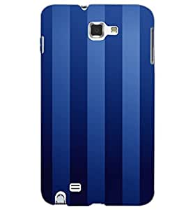 SAMSUNG GALAXY NOTE 1 BARS Back Cover by PRINTSWAG