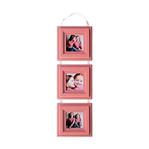 Amazoncom Baby Picture Frames Set Three 5x5 Pink
