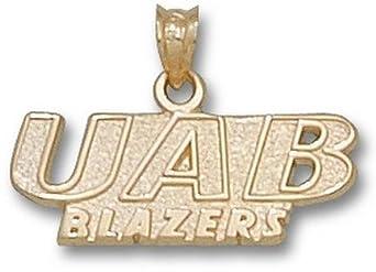 Alabama (Birmingham) Blazers UAB Blazers Pendant - 14KT Gold Jewelry by Logo Art