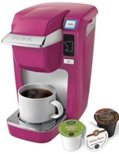 Keurig K10 Mini Plus Single Serve Personal Coffee Brewer Mauve