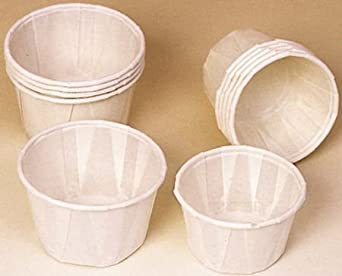 Paper Medicine Cups - 1 1/4 oz. - Model 55580 - Box of 250
