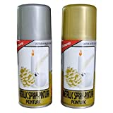 GOLD SILVER & COPPER SPRAY 1 OF EACH CHRISTMAS BBC199