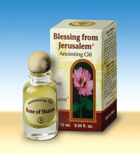 Rose of Sharon Jerusalem Anointing Oil 0.34 fl.oz from the Land of the Bible (Holy Oil compare prices)
