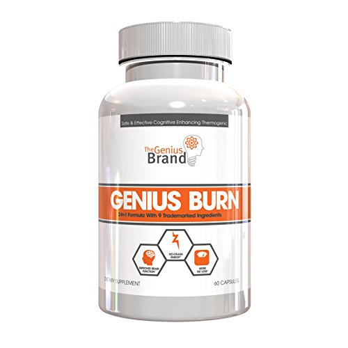 Genius-Burn-2-In-1-Focus-Enhancing-Thermogenic-Fat-Burner-Caffeine-Free-Nootropic-Weight-Loss-Supplement-Natural-Energy-Memory-and-Brain-Boost-with-9-Clinically-Validated-Ingredients-60-V-Caps