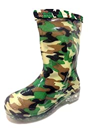 Unisex Toddlers, Kids, Rain Boots Camouflage, Camo Shoes, Military, Army, Lining (11)