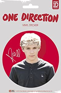 Official One Direction 1d Large Vinyl Sticker - Niall Color from Global Merchandising
