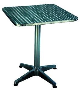Tavolo alluminio bar quadro cm 70x70 elettronica for Tavolo cucina 70x70