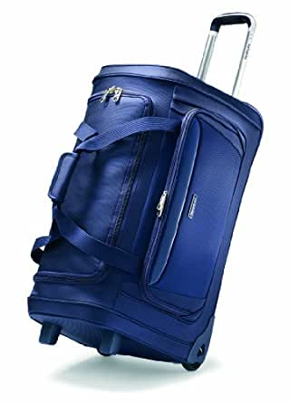 Samsonite Luggage Silhouette Sphere Wheeled 26 Inch Duffle, Indigo Blue, One Size